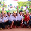 Tết thiếu nhi tại trường tiểu học Trần Phú - Bình Phước