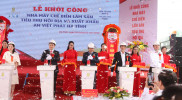 GROUNDBREAKING CEREMONY OF AN VIET PHAT HA TINH FACTORY