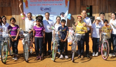 "CBC CONSTRUCTION - ""TET"" CHARITY AT SOC BUI TRE PARISH, BINH PHUOC PROVINCE"