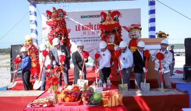 CONGRATULATION CBC WIN KINGWOOD PROJECT - TAN BINH IP - BINH DUONG PROVINCE
