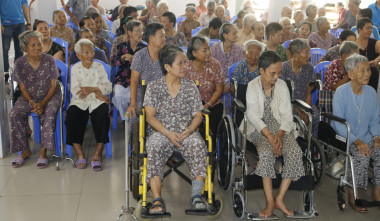 "CBC CONSTRUCTION VISITED SUOI TIEN NURSING HOME AT THE MIDDLE OF MARCH - A CHARITY DAY NAMED ""365 DAYS WITH LOVE"""