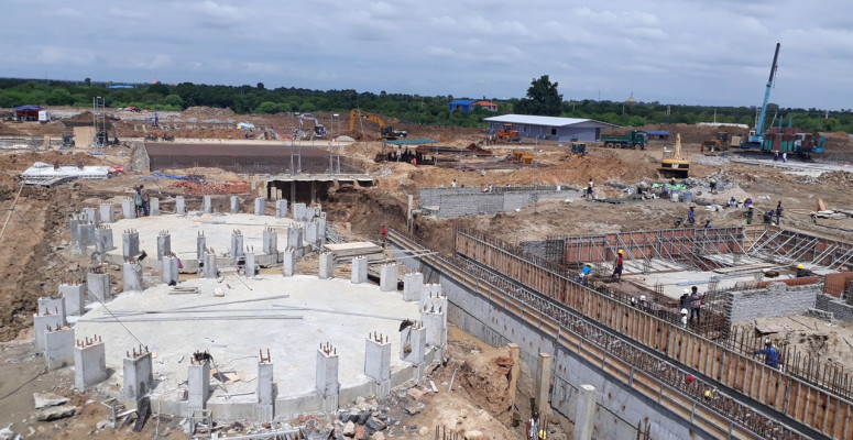 90 DAYS TO FINISH AND HAND OVER CP MANDALAY PROJECT TO THE OWNER - REINFORCED CONCRETE SILO