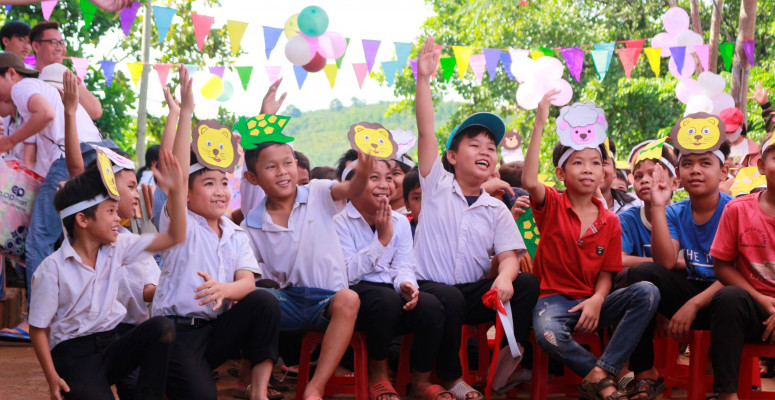 CHILDREN'S DAY AT TRAN PHU PRIMARY SCHOOL IN BINH PHUOC